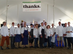 most of our Oyster Fest chefs